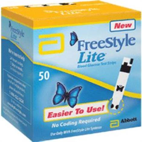 FreeStyle Lite Test Strip,Test Strip,50/Pack,70822