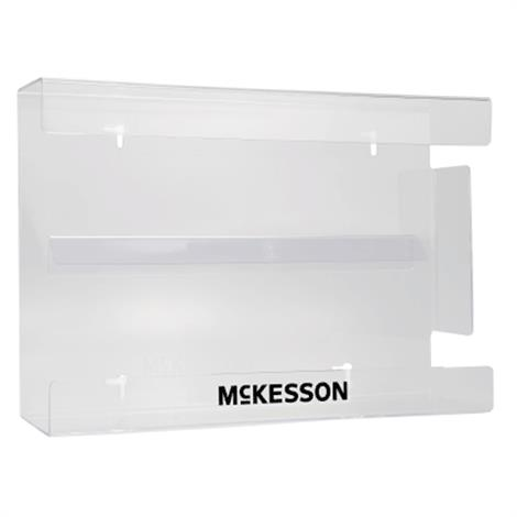 "McKesson Clear Plastic Glove Box Holder,10-1/4""L x 3-1/8""D x 15-1/4""H,4/Case,16-6530"