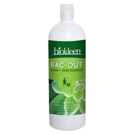 Biokleen Bac-Out Stain and Odor Remover,Stain and Odor Remover,32 oz,Each,024595-1 024595-1