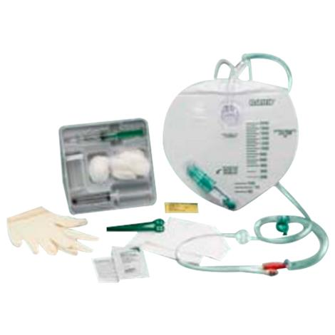 Bard Advance Silicone Foley Catheter Tray With 2000mL Drainage Bag,16FR,10/Pack,897516