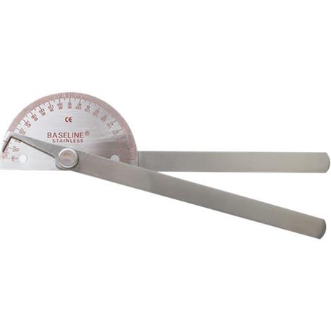"Baseline Metal Goniometer,14"" Legs,180 Degree Range,Conzett,Each,#12-1041"