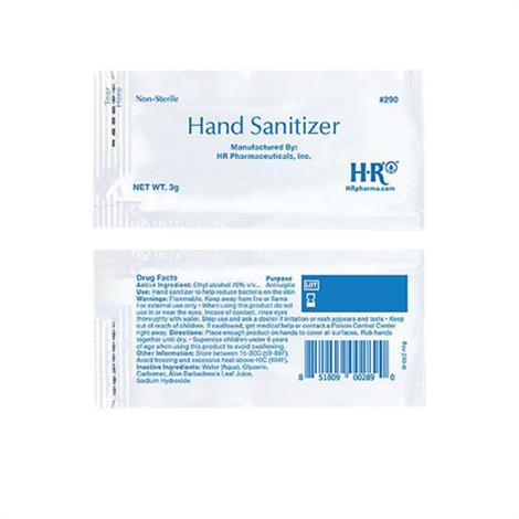 HR Hand Sanitizer,3 gram,1728/case,290