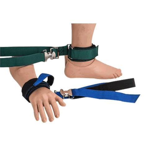 Humane Restraint Polypropylene Limb Holder,Ankle,Closure: Hook and Loop,Each,NAL-101