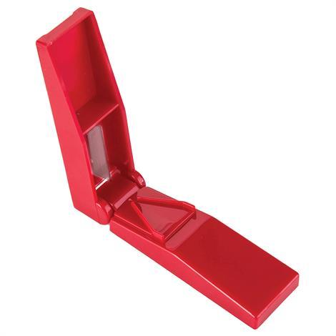 "Mabis DMI HealthSmart Pill Cutter,3-1/4"" x 1"",Red,Each,640-5437-0000HS"