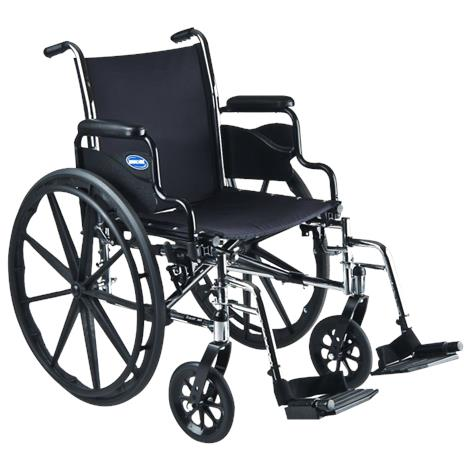 Invacare Tracer SX5 18 Inches Flip-Back Desk-Length Arms Wheelchair,Each,TRSX58FBP-T94HAP