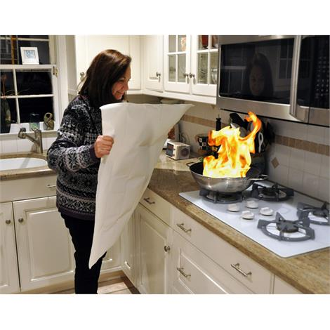 Skil-Care Flame Snuffer,Kitchen Fire Blanket,Each,915310