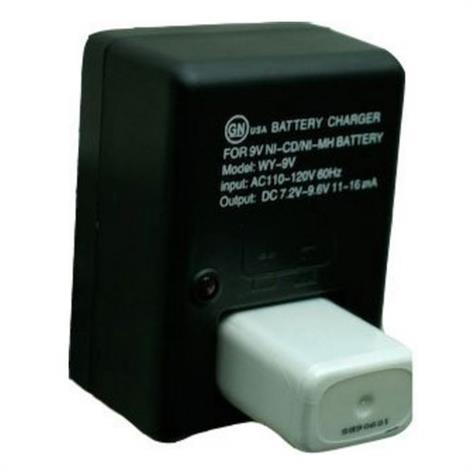 BioMedical NiMH 9 Volt Battery Charger,Battery Charger,Each,L00062