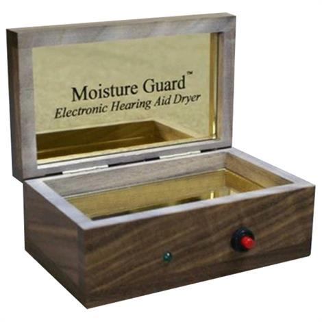 ClearSounds Moisture Guard Electronic Hearing Aid Dryer,Cherry Wood,Each,HC-M-GUARD