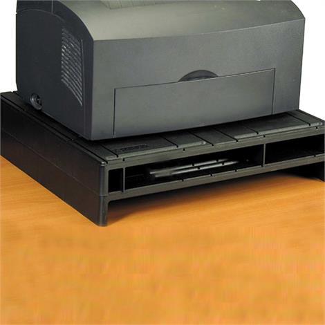 """VuRyser Max Plus 2 Inches Monitor Riser,Black,16-3/4"""" x 15-1/2"""" x 2"""" (43 x 39 x 5.1cm),Each,VUR7255"""