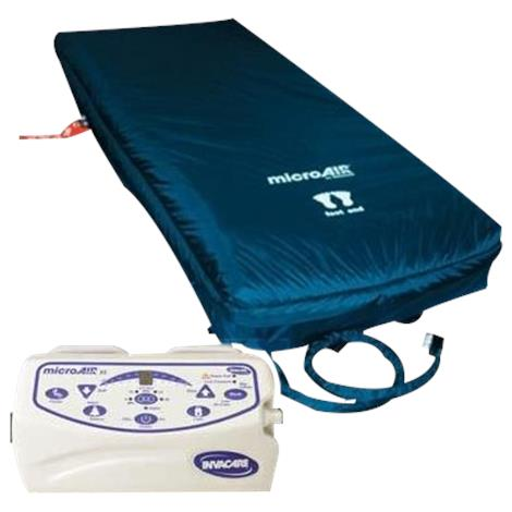 Invacare MicroAIR Alternating Pressure Mattress Replacement System with 10 LPM Compressor,80
