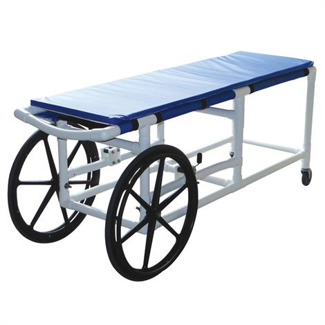 "MJM International Self Propelled Stretcher,70""L x 22""W x 30""H (with Casters),Each,915-24"