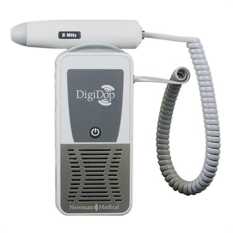 Newman Medical DigiDop Non Display Digital Doppler,Doppler with 2MHz Obstetrical Probe and Recharger,Each,DD301D2