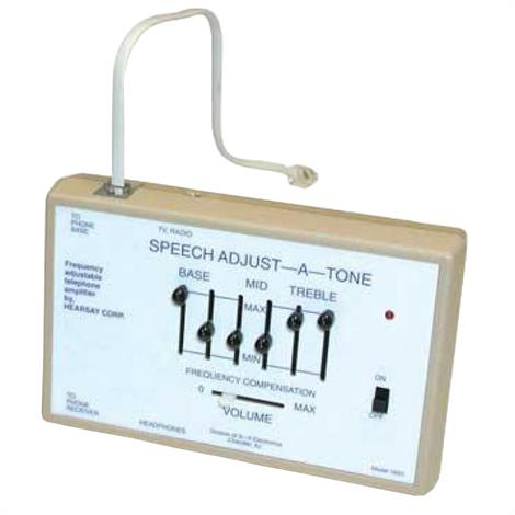 "Harris Communications Speech Adjust A Tone Amplifier,Dimensions: 5-3/4"" x 1-1/2"" x 1-1/2"",Each,HC-1693"