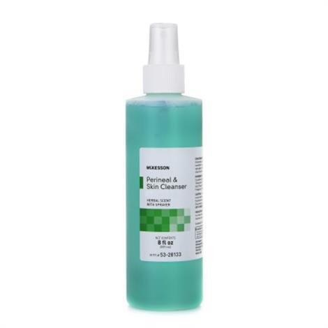 McKesson MSA Rinse-Free Perineal Wash,8 oz. Pump Bottle,48/Case,53-28133