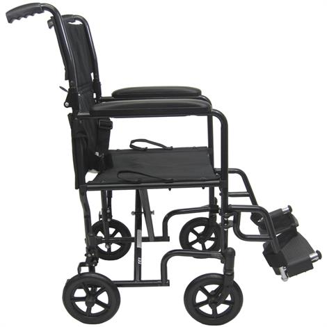 Karman Healthcare T-2000 Steel Transport Wheelchair,0,Each,0