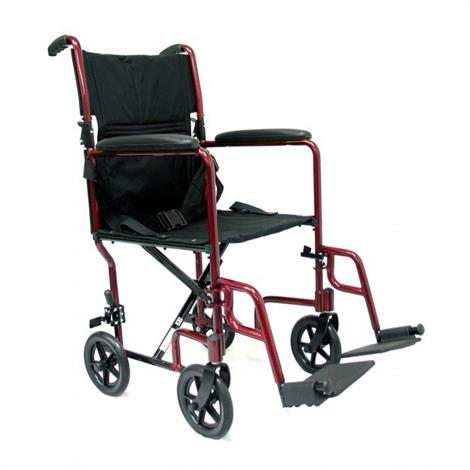Karman Healthcare LT-2000 Lightweight Transporter Aluminum Wheelchair,0,Each,0