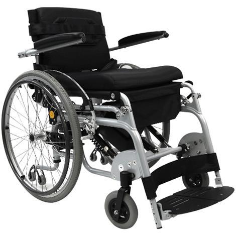 """Karman Healthcare Manual Push Power Assist Stand Wheelchair,16""""W x 18""""D,Each,XO-101N"""