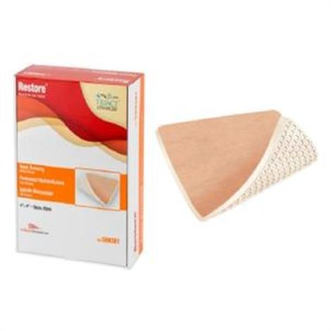 "Urgo Restore Foam Wound Dressing without Border,4.7"" x 7.5"",10/Pack,509384 - from $265.99"