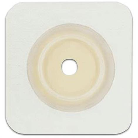 Genairex Securi-T Two-Piece Flat Extended Wear Cut-to-Fit Tan Solid Hydrocolloid Skin Barrier Wafer,5/Pack,7814134