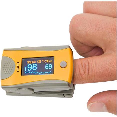 Exacta Dual Color OLED Display Finger Pulse Oximeter,2.24 x 1.3 x 1.2 (57 x 33 x 30 mm),Each,NC87031