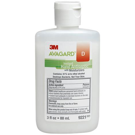 Avagard D Instant Hand with Moisturizer,16oz,Pump Bottle,Each,9222