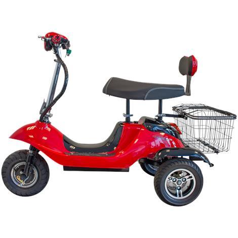 EWheels EW-19 Sporty Scooter,Two Tone Red/Black,Each,EW-19