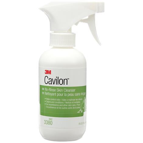 3M Cavilon No-Rinse Skin Cleanser,8oz (236ml),Spray Bottle,12/Case,3380