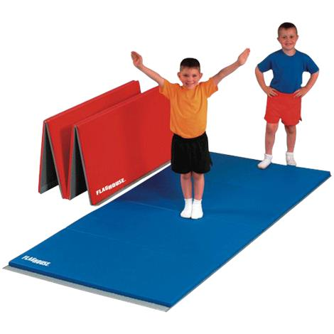 Flaghouse 2 Feet Folding Panel Mat With 2 Sided Hook And Loop Fastener