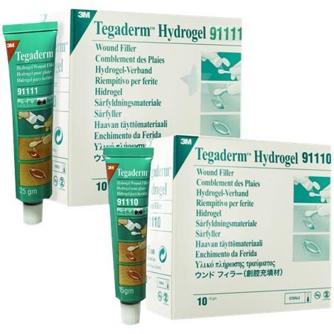 3M Tegaderm Hydrogel Wound Filler,0.88oz (25gm) Tube,10/Pack,10Pk/Case,91111
