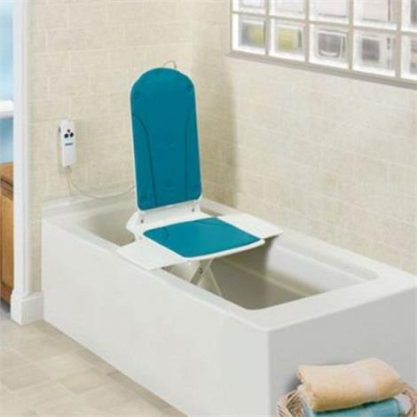 Sammons Bathmaster Sonaris Lift with Torquoise Seat And Back Cover,Lift with Torquoise Seat & Back Cover,Each,81621796