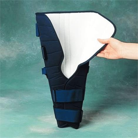 Rolyan Knee Immobilizer,Long,Small,Each,A404204