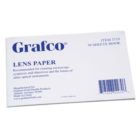 "Graham-Field Lens Paper,Soft,thin,silky paper sheets,4"" x 6"".,12/Pack,3719"