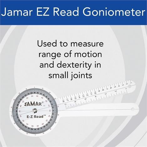 "Ez Read Jamar Goniometer,6"" (15Cm),Each,7539"