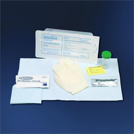 Bard Bardia Urethral Tray Without Catheter,Urethral Catheter Tray,20/Case,802100