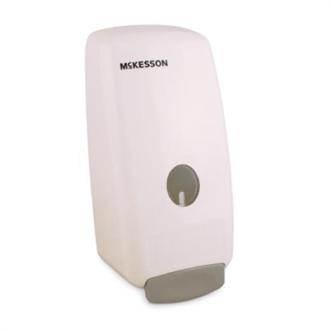 McKesson Plastic Push Bar Soap Dispenser,Soap Dispenser,1000 ml,12/Case,53-1000