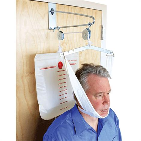 "Fabtrac Overdoor Cervical Traction with Head Halter,15"" x 3.5"" x 7"",Each,50-1000"