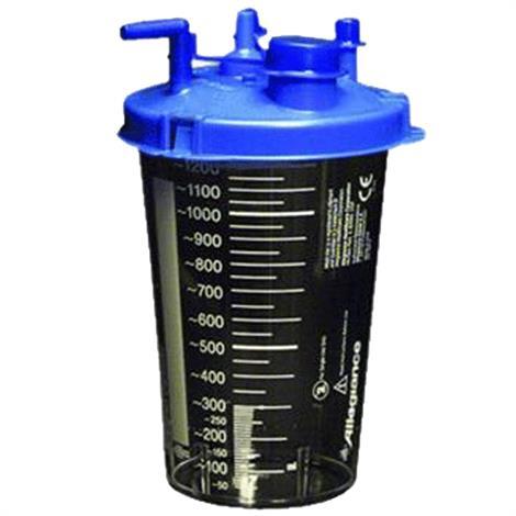 Cardinal Health Medi-Vac Suction Canister,Capacity: 1200cc,40/Case,65651-212