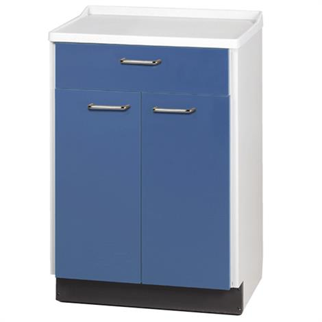 Clinton Molded Top Treatment Cabinet with Two Doors and One Drawer,0,Each,8821-A