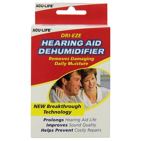 Acu-Life Dri-Eze Hearing Aid Dehumidifier,Hearing Aid Dehumidifier,Each,HE400587