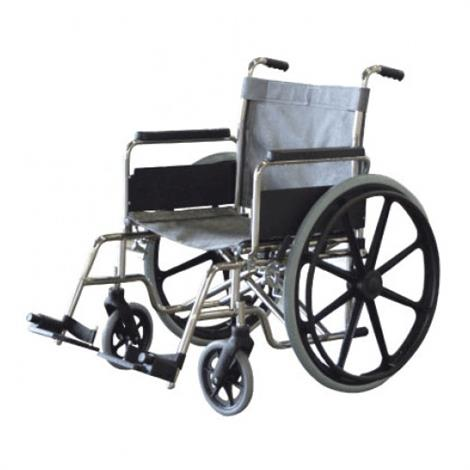 "Aqua Creek Stainless Steel Aquatic Wheelchair,18"" Wide,Folding,350 lb Capacity,Each,F-18SSWC"