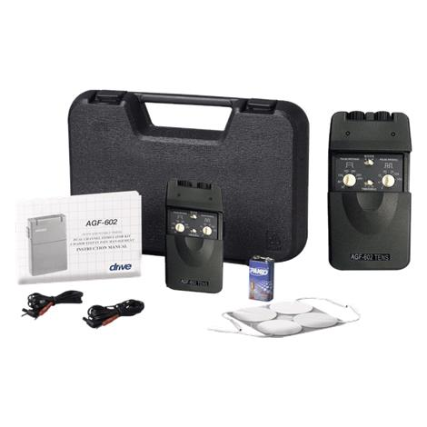 Drive Dual Channel TENS Unit With Timer,TENS Unit with Timer,Each,AGF-602