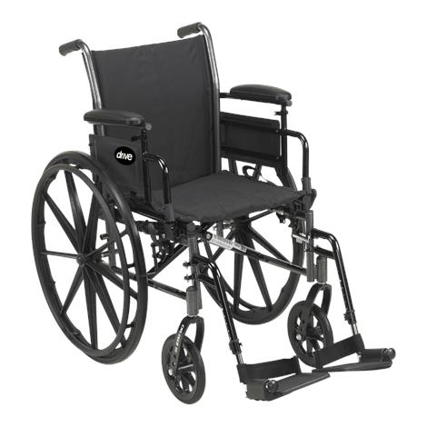 Drive Cruiser III Light Weight Dual Axle Wheelchair,0,Each,0