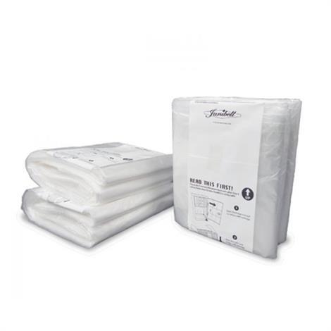 Janibell 450 Series Refill Bag Liner,Bag Liner for 450 Series,10/Pack,450R10B