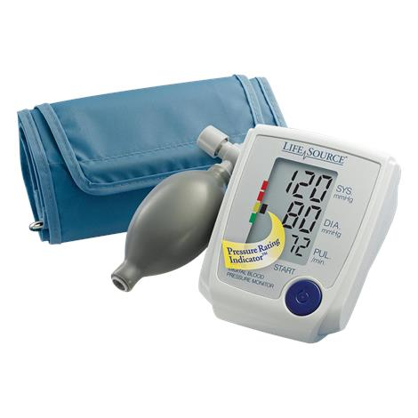 """A&D Medical Advanced Manual Inflate Pressure Monitor,Large Cuff,14.2"""" to 17.7"""" (36cm to 45cm),Each,UA-705VL"""