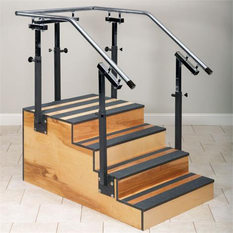 FlagHouse Adjustable One-Sided Training Stair,Training Stairs,Each,35477