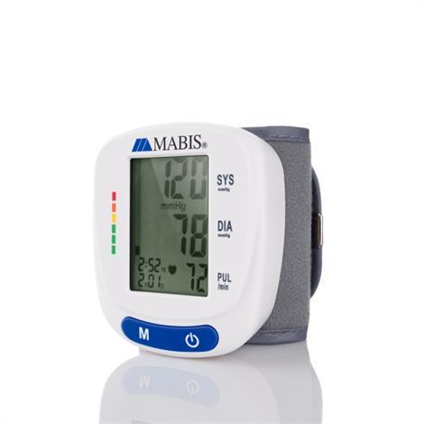 Mabis Digital Wrist Pressure Monitor,Wrist Pressure Monitor,Each,04-615-001