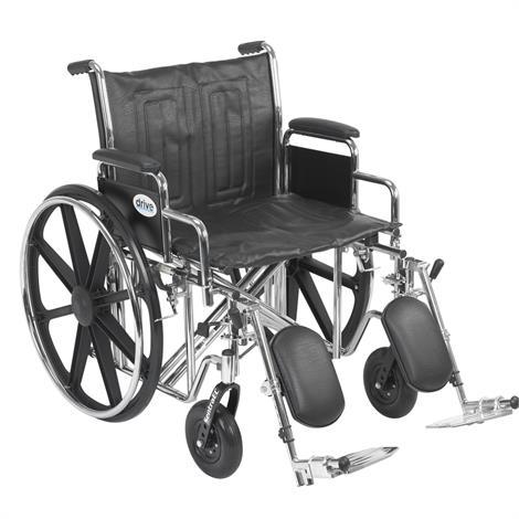 Drive Sentra EC Heavy Duty Wheelchair,0,Each,STD