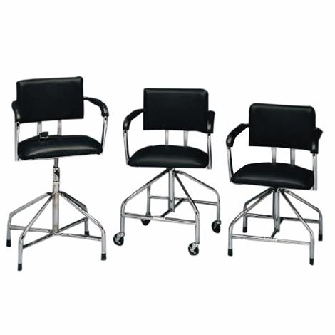 Bailey Whirlpool Chair,Low Boy Whirlpool Chair With Casters,Each,7702