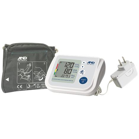 """A&D Medical Multi-User Pressure Monitor,8.6"""" - 16.5"""",With AC Adapter,Each,UA-767FAC"""