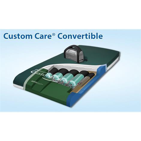 Span America PressureGuard Custom Care Convertible Mattress,Mattress,Each,CJ803629
